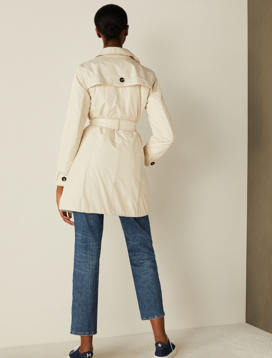 Padded trench coat Marella