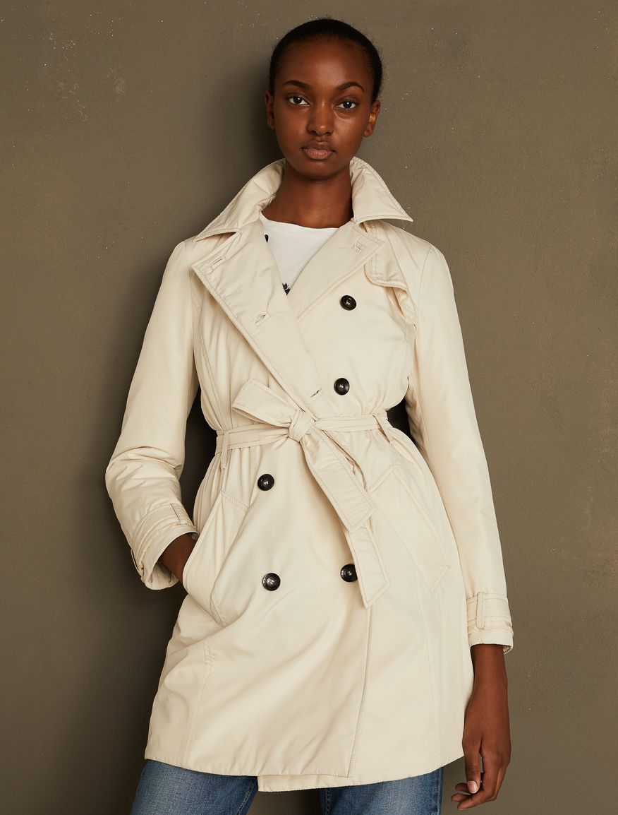Padded trench coat Marella