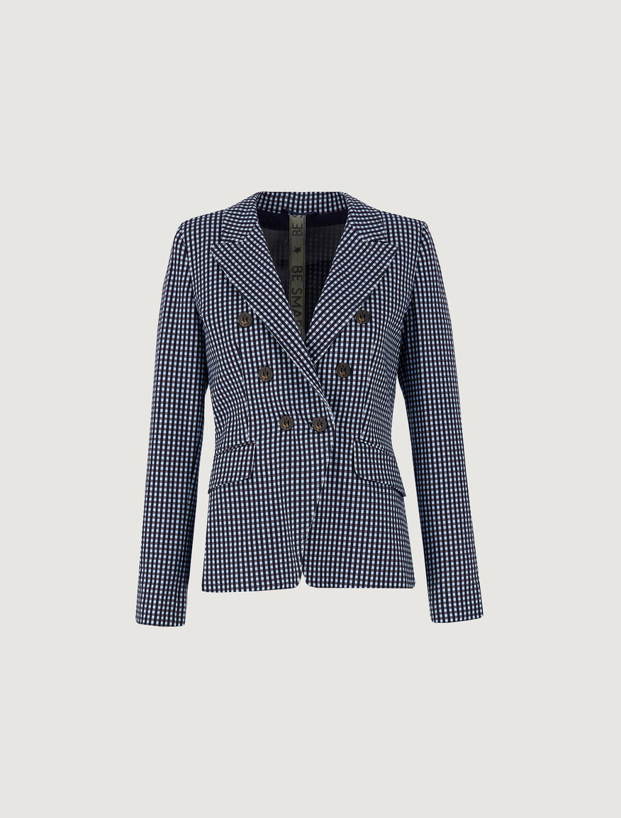 Patterned blazer Marella