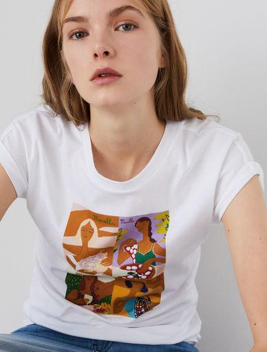 T-shirt with print Marella