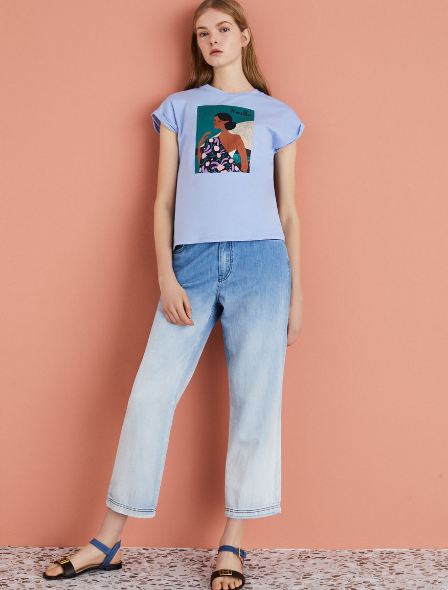 T-shirt with print Marella