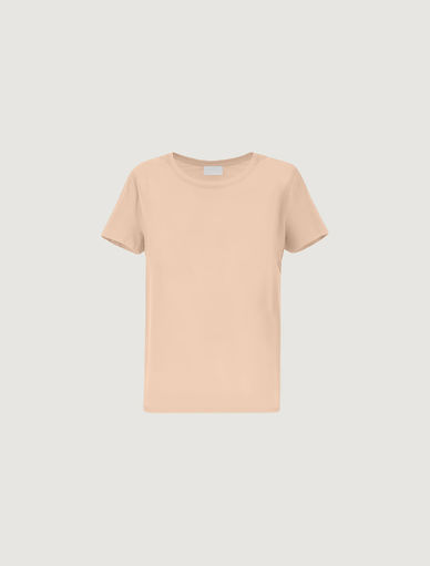 Bi-material T-shirt MONOCHROME Marella