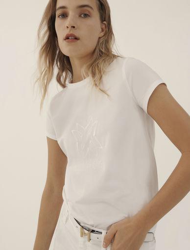 Embroidered T-shirt MONOCHROME Marella