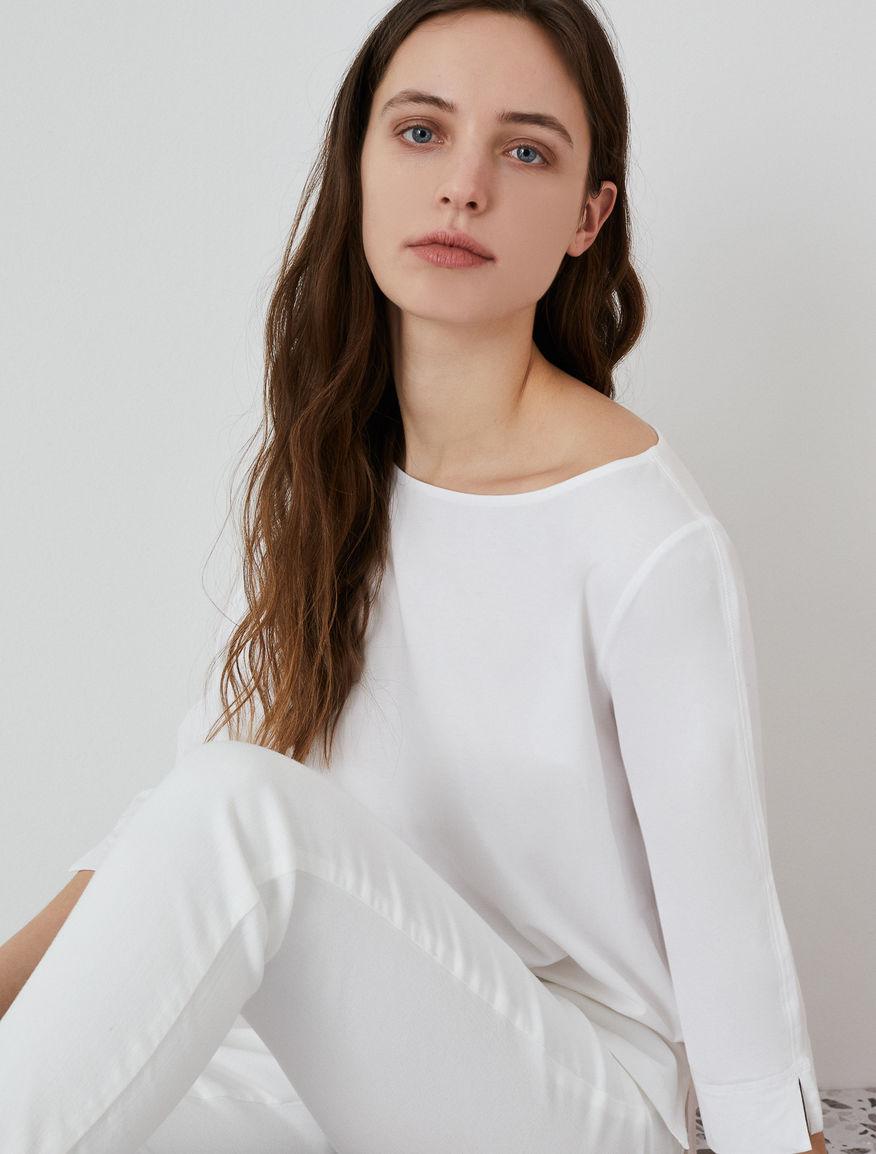 Jersey T-shirt MONOCHROME Marella