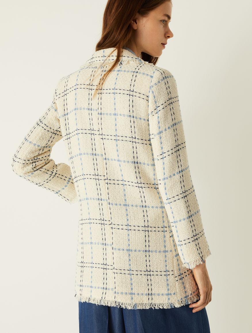 Basket-weave blazer Marella