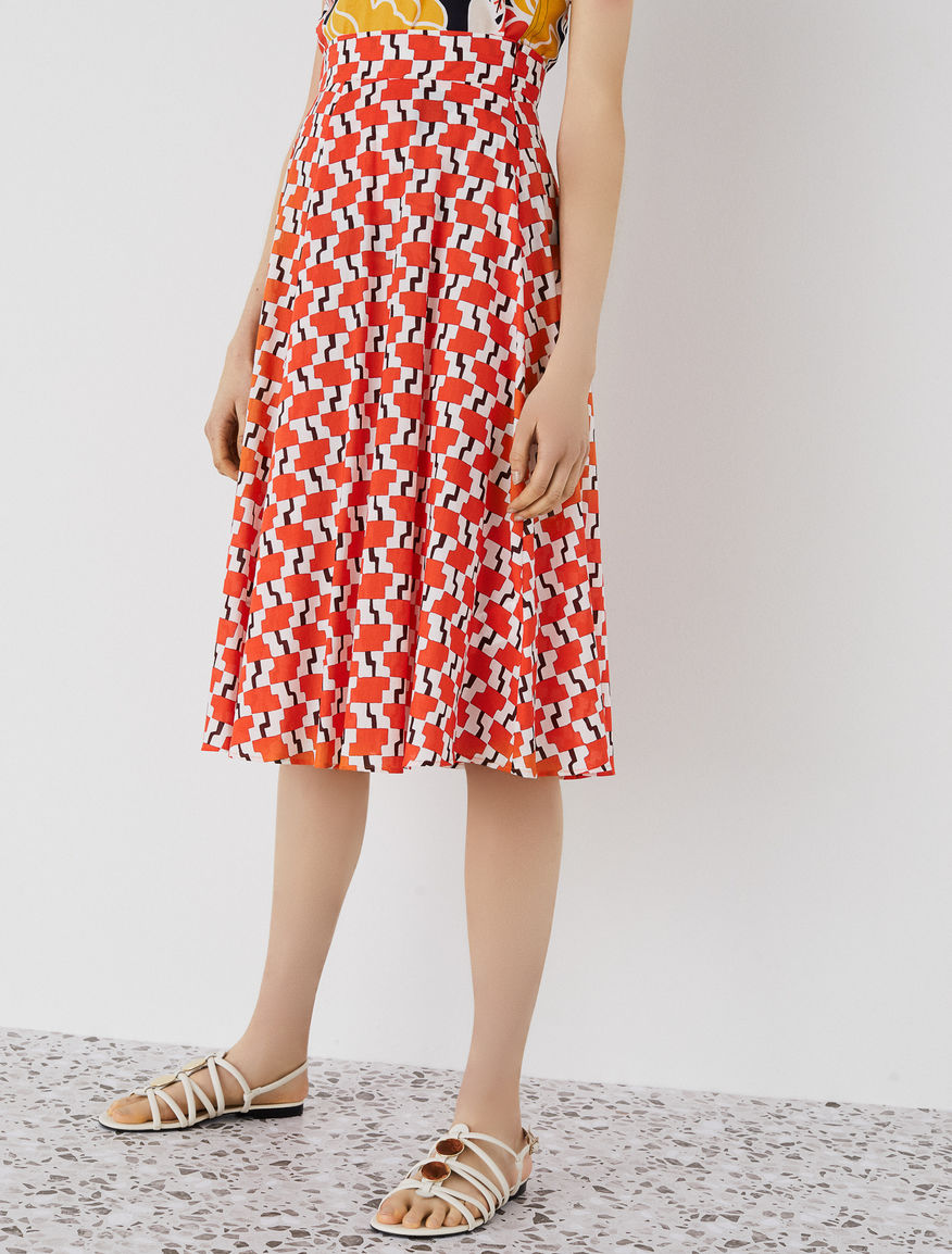 Patterned skirt Marella
