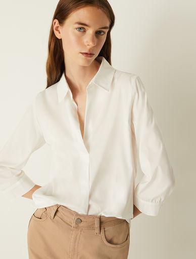 Blusa in popeline Marella