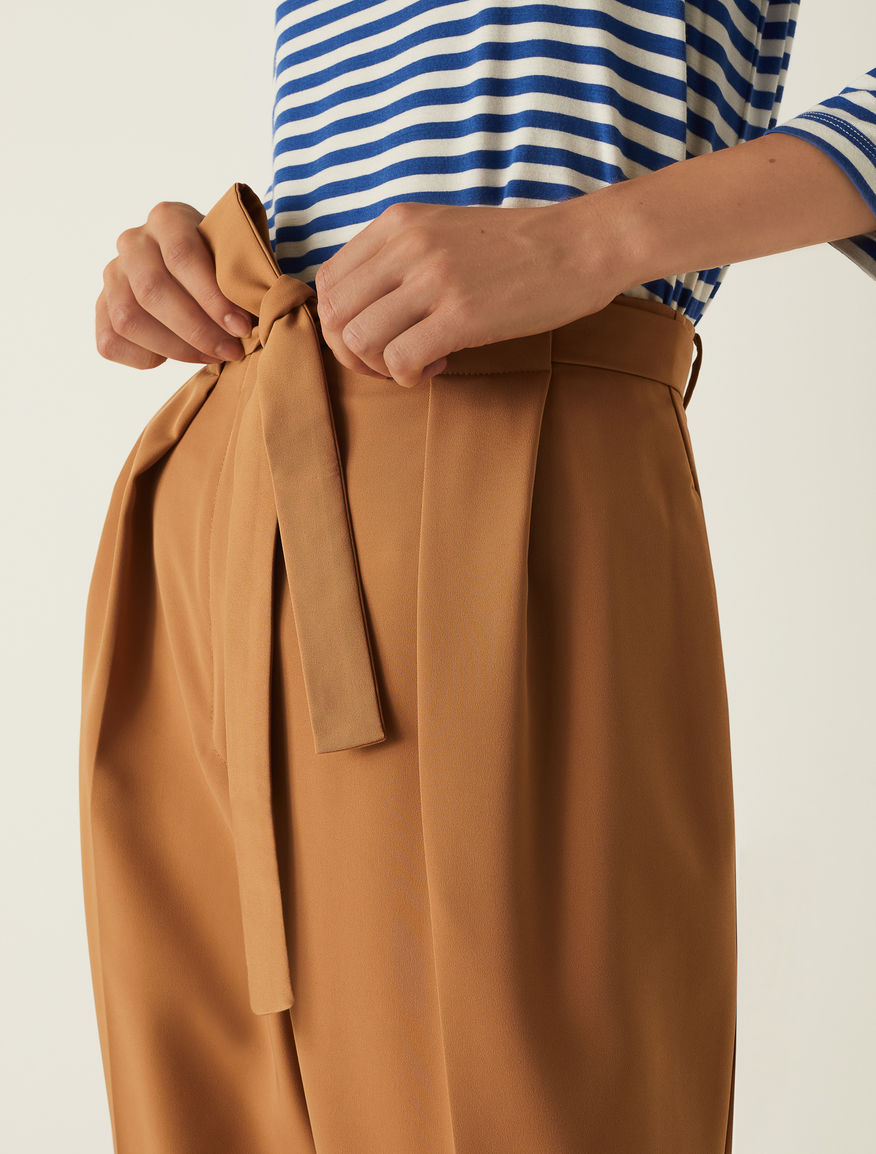 Carrot fit trousers Marella