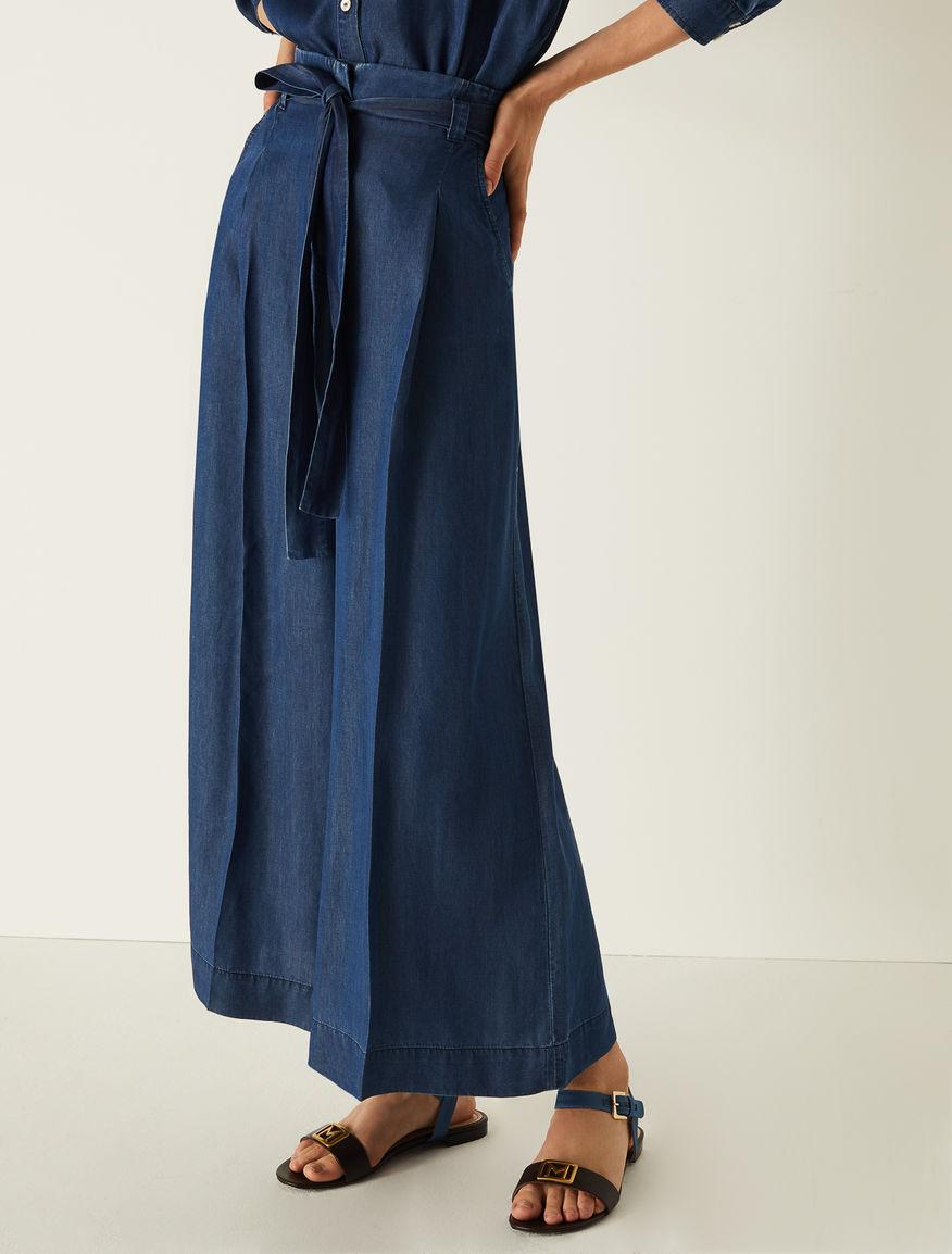 Denim trousers Marella