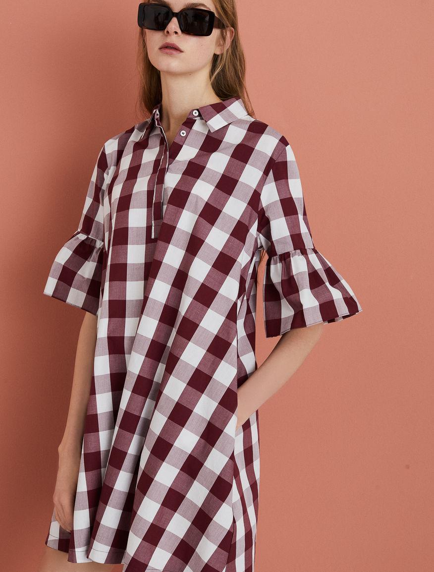 Kleid aus Popeline Marella