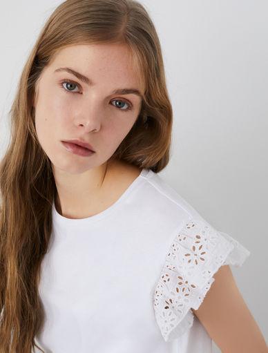 T-shirt en jersey Marella