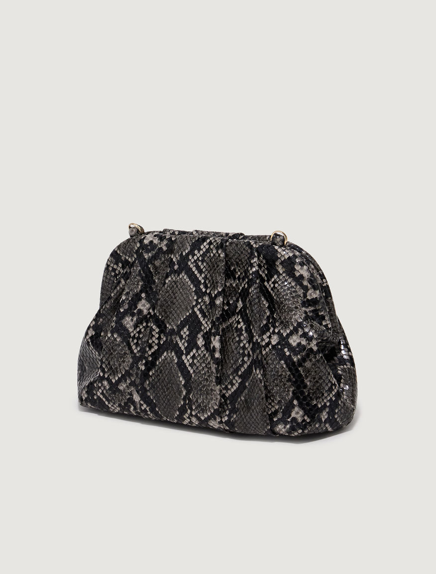 Clutch bag with frame Marella
