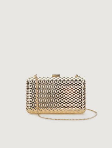 Metal clutch bag Marella