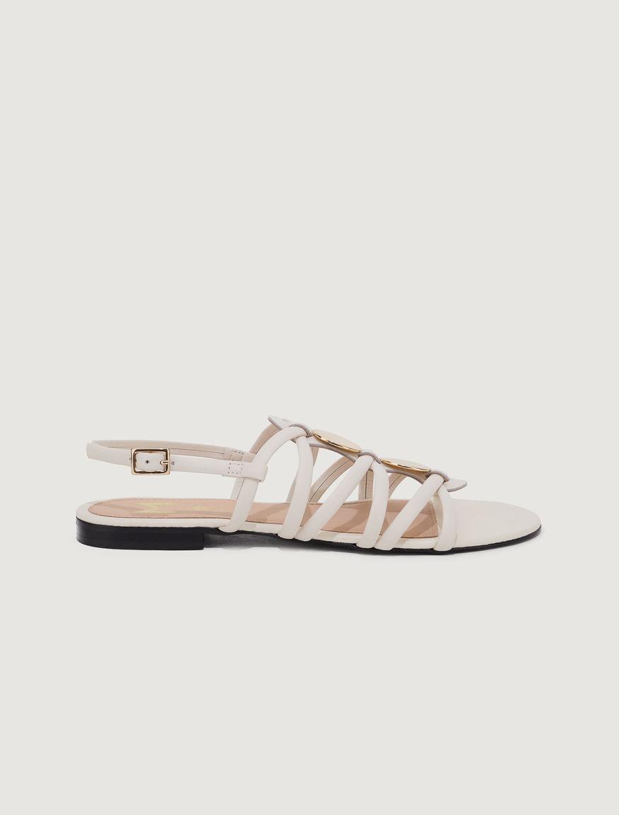 Leather sandals Marella