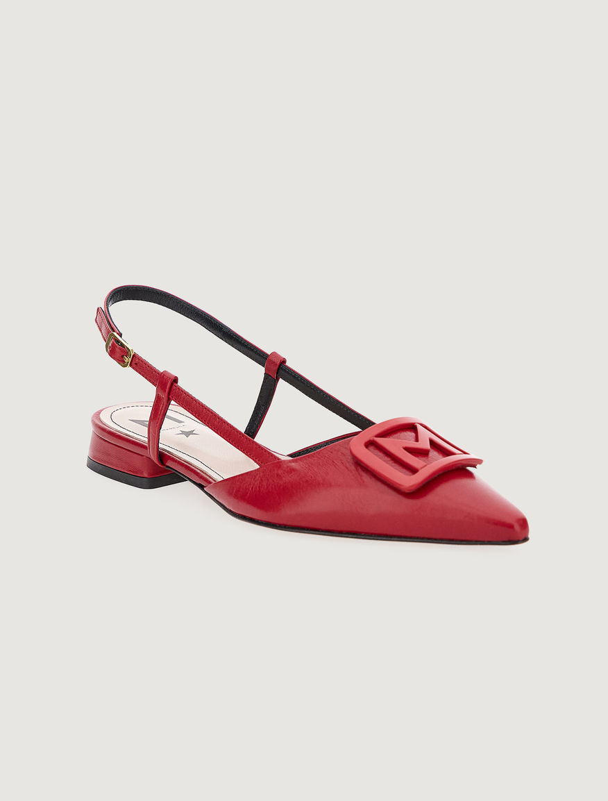 Point-toe slingbacks Marella