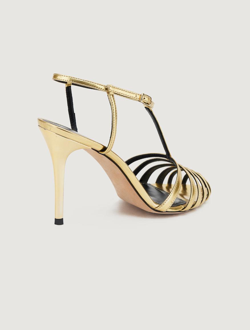 Laminated sandals Marella