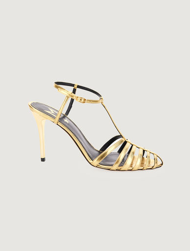 Sandales lamées Marella