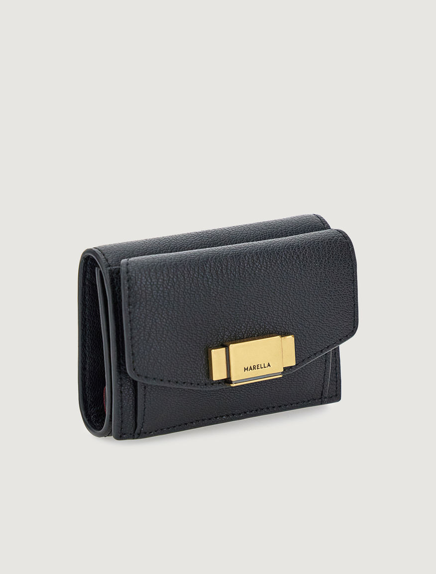 Leather wallet Marella