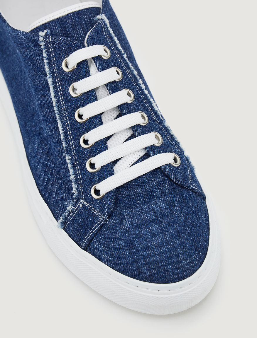 Denim sneakers Marella