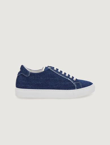 Sneakers en denim Marella