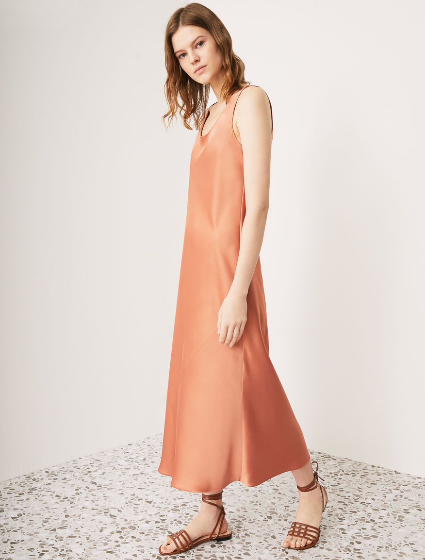Satin slip dress Marella