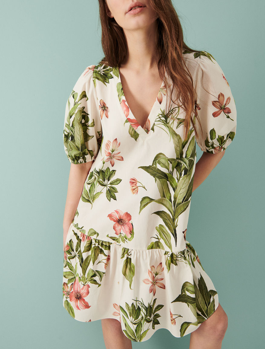 Dress with flounce Marella