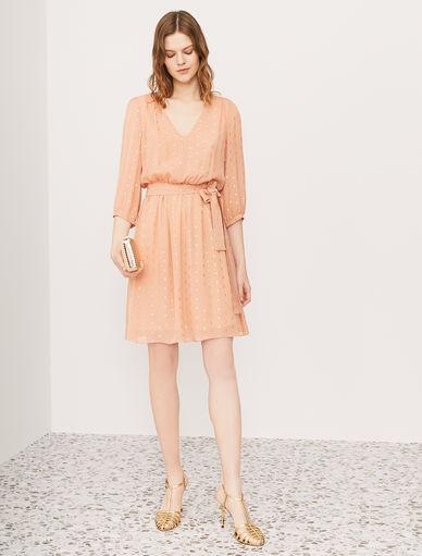 Kleid aus Georgette Marella