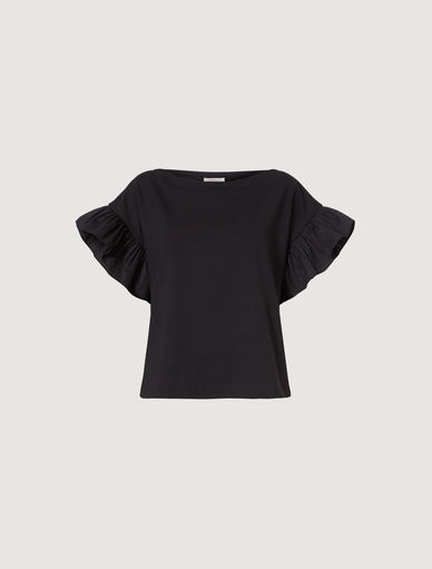 T-shirt with flounce Marella