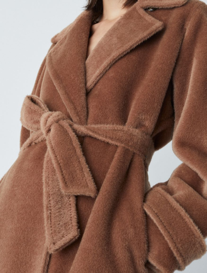 Cappotto misto alpaca Marella