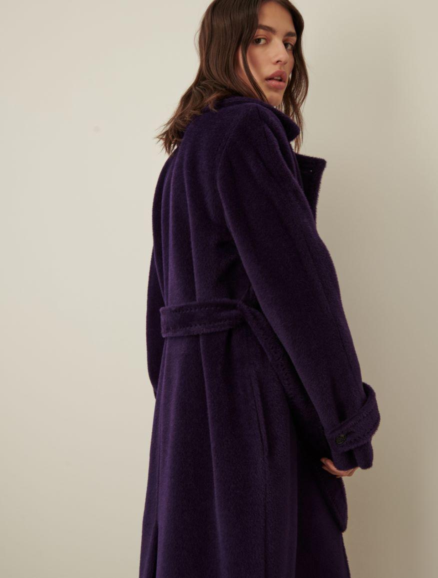 Alpaca-blend coat Marella