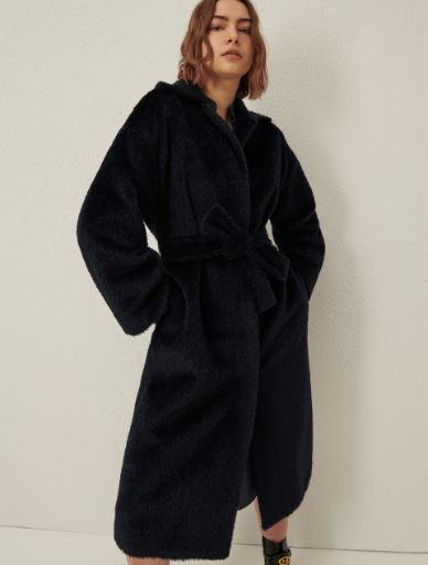 Mantel aus Wolle und Alpaka Marella