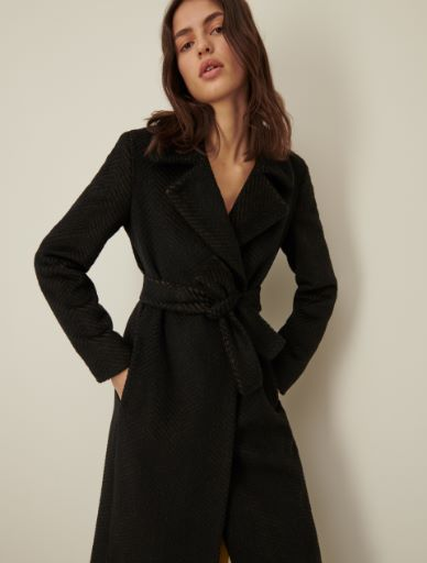 Belted coat Marella