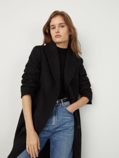 Wool-blend coat Marella