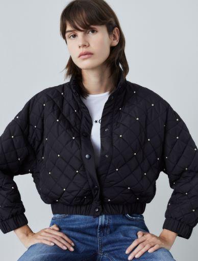 Studded bomber jacket Marella