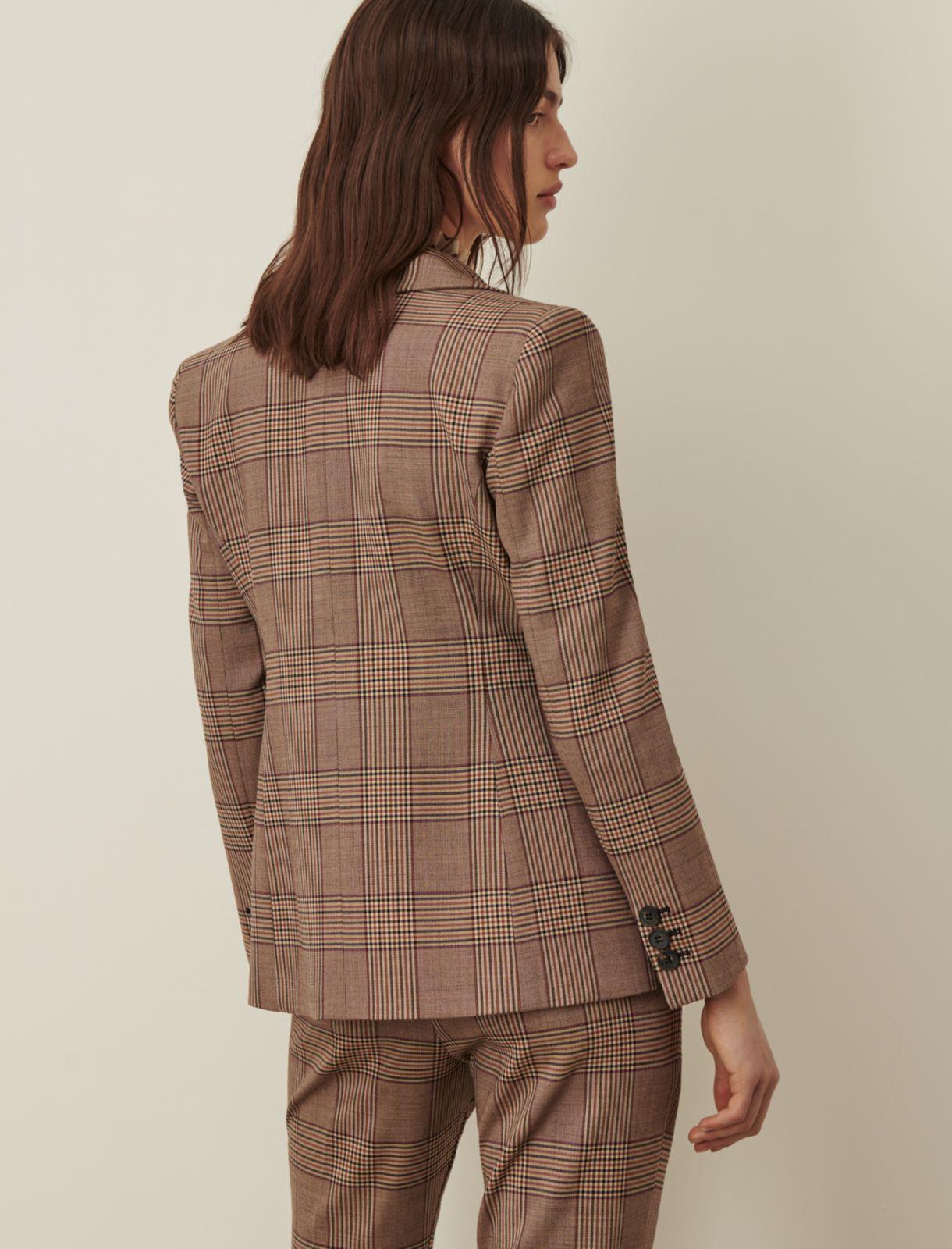 Patterned blazer Marella