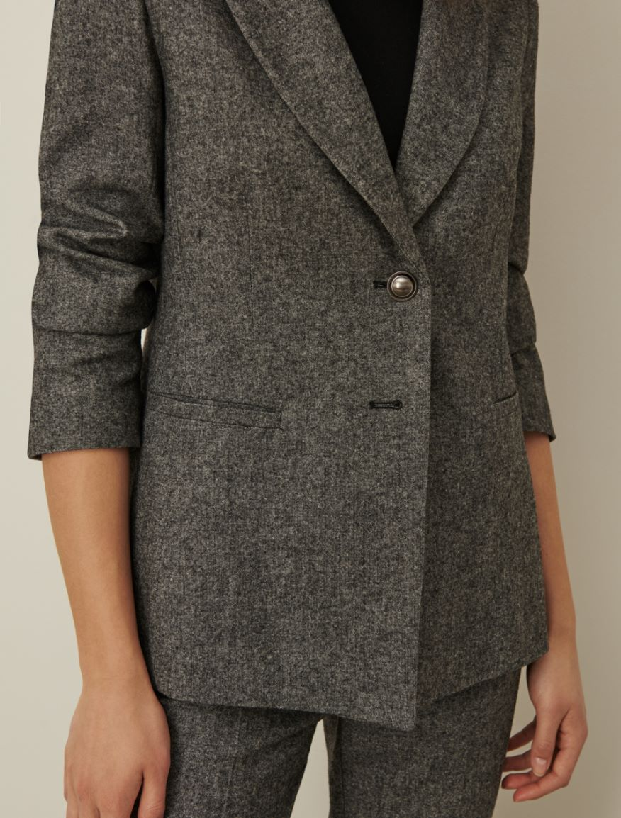 Tweed blazer Marella
