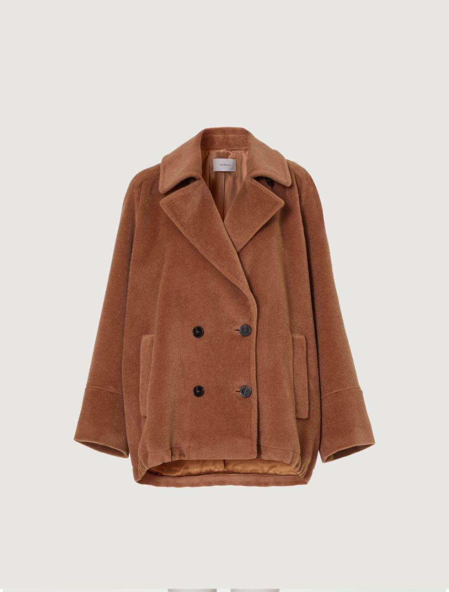 Wool pea coat Marella
