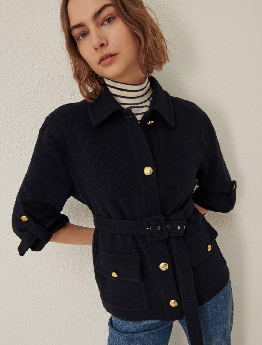 Belted jacket Marella