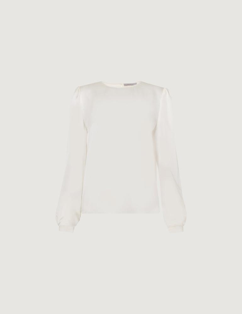 Bi-material blouse Marella