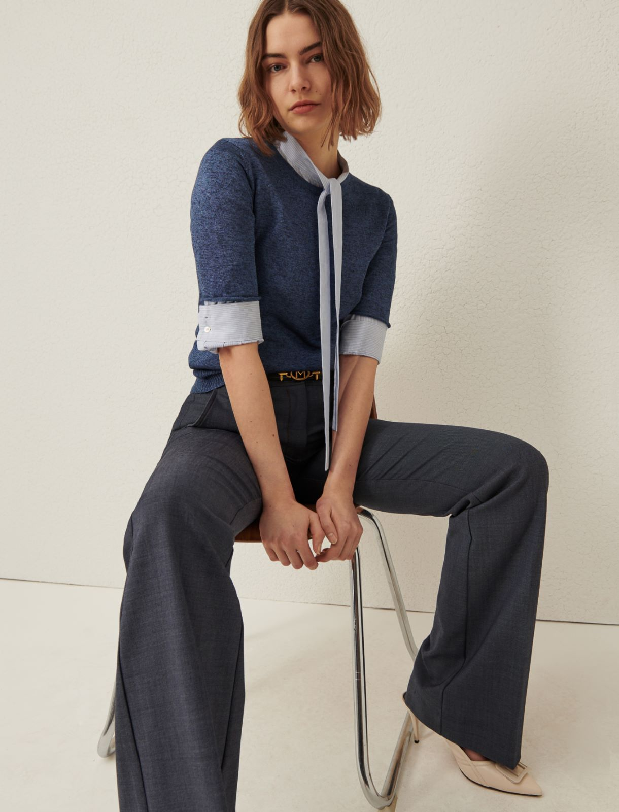 Cotton blouse Marella