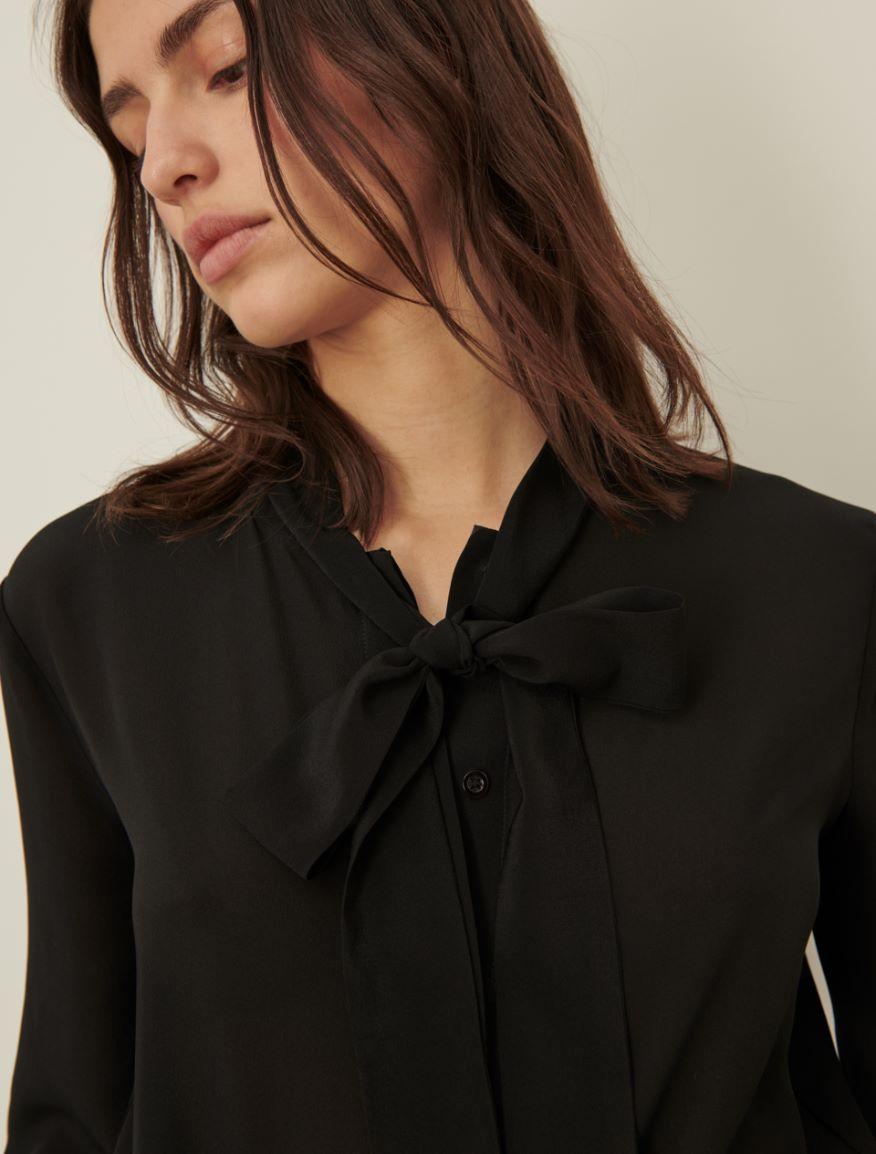 Pussy-bow shirt Marella