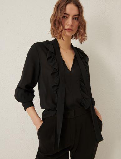 Bow-embellished blouse Marella