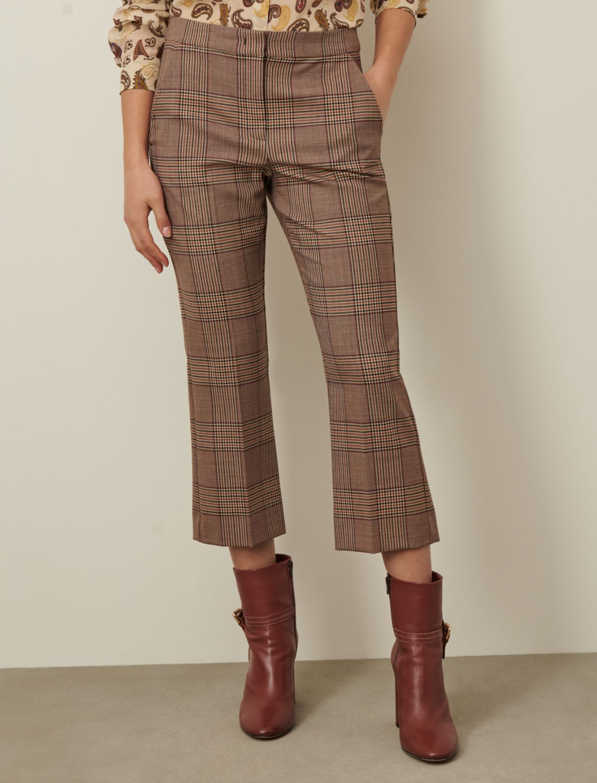 Patterned trousers Marella