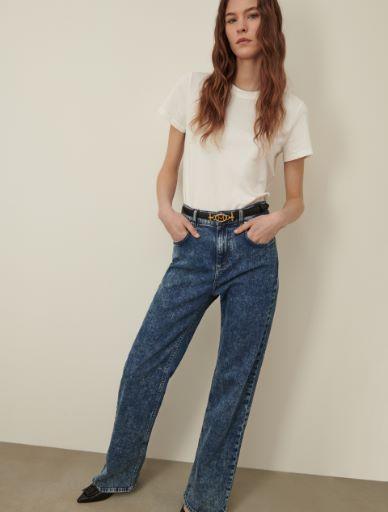 Wide leg jeans Marella