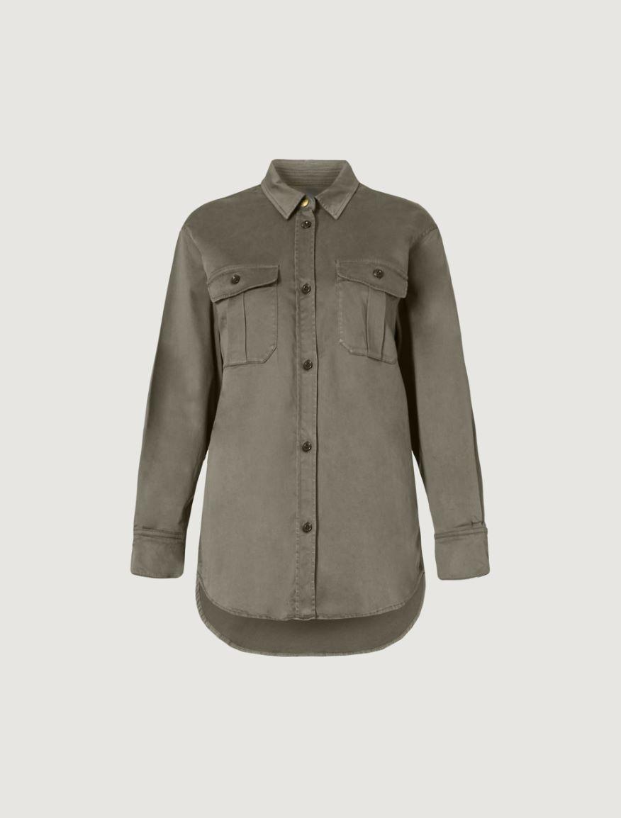 Camicia in raso Marella