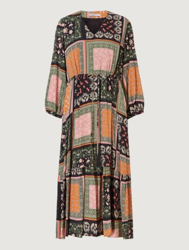 Kleid aus Crêpe Marella