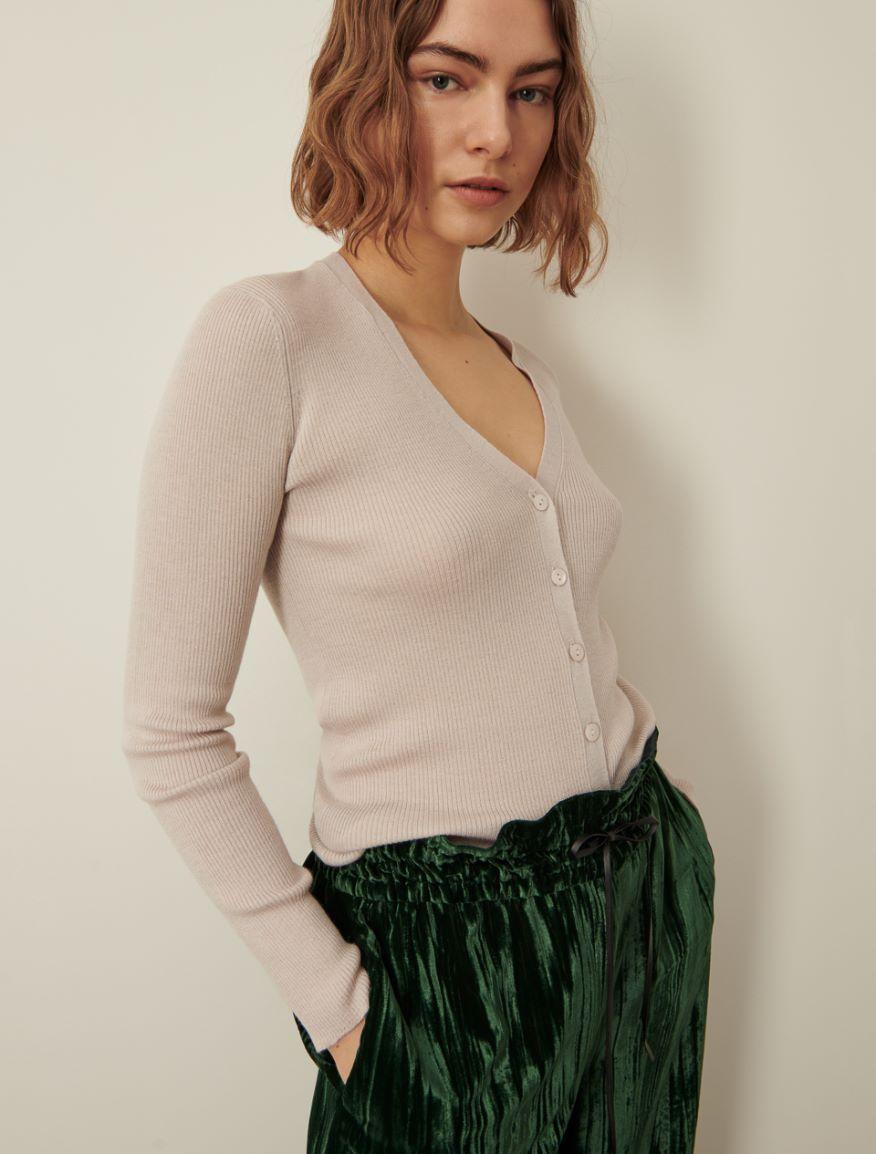 Rib-knit cardigan Marella