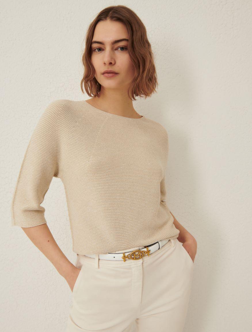 Semi-fitted sweater Marella