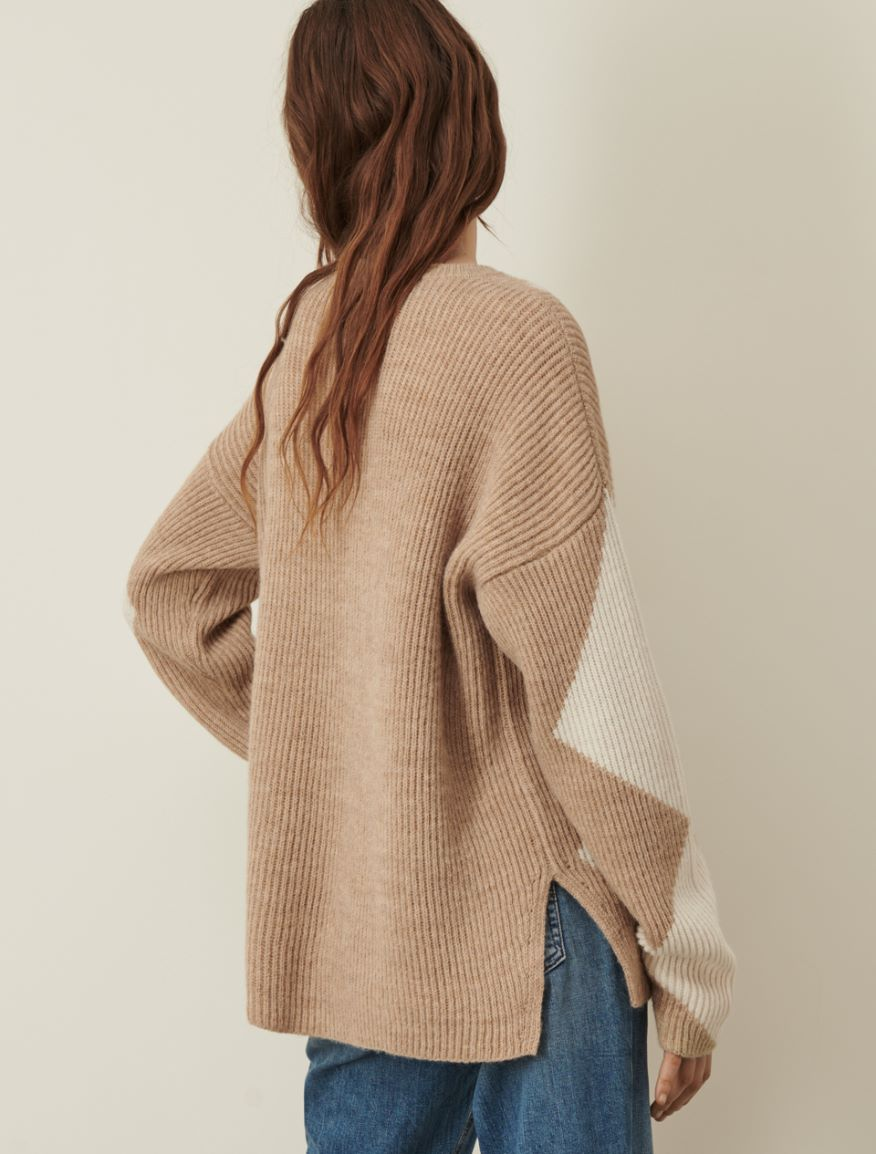 Alpaca-blend sweater Marella