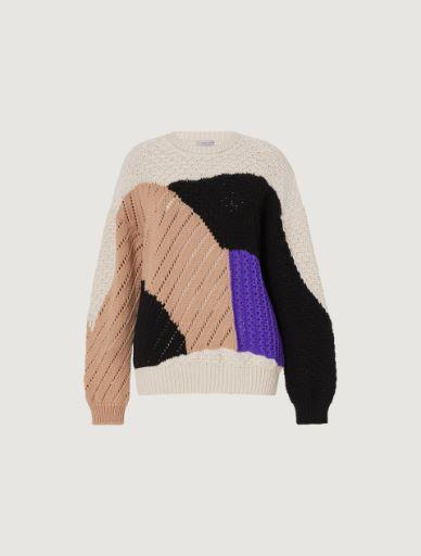 Intarsia sweater Marella
